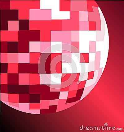Mirror ball vector