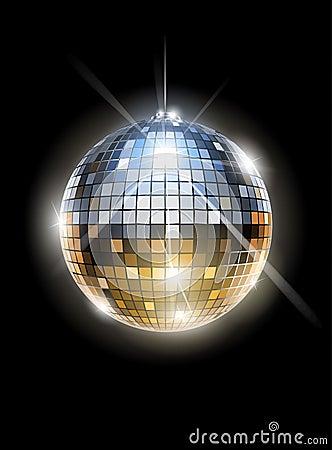Free Mirror Disco Ball Royalty Free Stock Image - 24089086