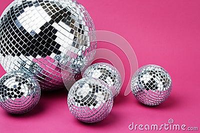 Mirror disco balls