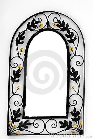Free Mirror Frame On The Wall Royalty Free Stock Photo - 20185965