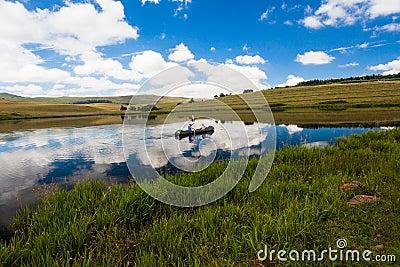 Mirror Lake Canoe Children