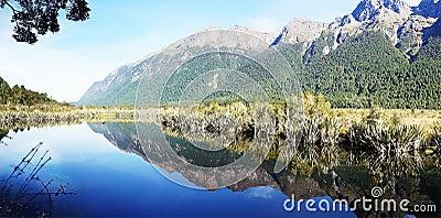 Mirror Lake Fiordland