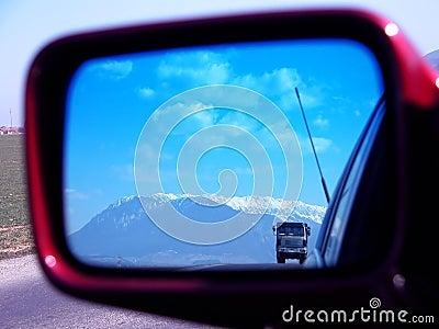 Mirror truck