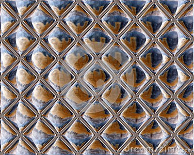 Mirrored Glass Seamless Repeating Tile Pattern