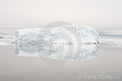 Mirrored Iceberg