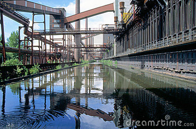 Mirroring an industrial plant