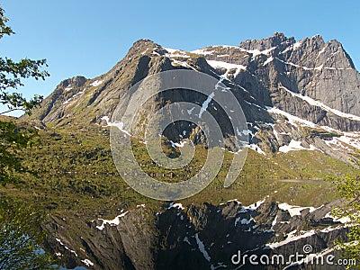 Mirroring in Lofoten s Storvatten