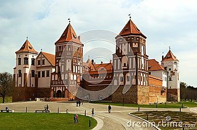 The Mirsky Castle Complex is the famous landmark of Belarus
