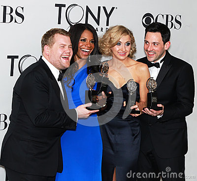 Mirthfull Tony-Winning Quartet Editorial Photo