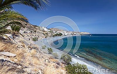 Mirtos beach at Crete island in Greece