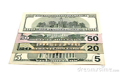 Miscellaneous denominations of dollars