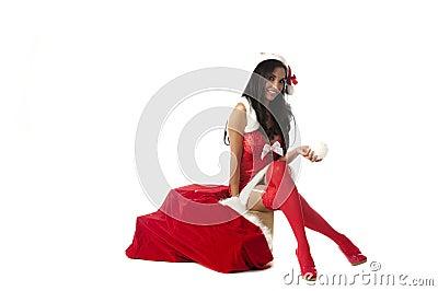 Mischievous Mrs Santa
