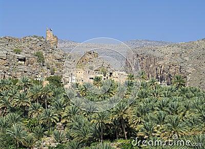 Misfat, sultanate Oman