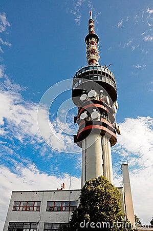 Misina TV tower in Pecs, Hungary