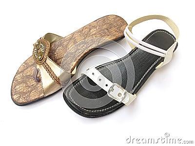 Mismatch footwear
