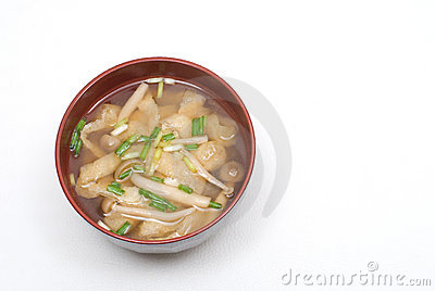 Miso Soup Royalty Free Stock Image - Image: 19948976