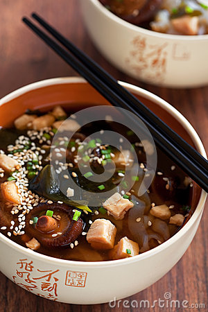 Free Miso Soup Royalty Free Stock Photography - 28199367