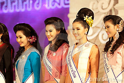 Miss Chiangmai 2012 Editorial Image