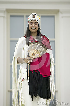 Miss Chickahomny American Indian Editorial Photography