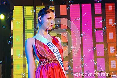 Miss georgia Editorial Image