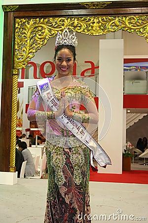 Miss International Tourism Editorial Stock Photo