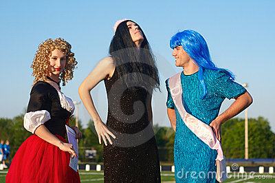 Miss Relay contestants Editorial Image