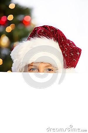 Miss santa hiding