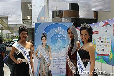 Miss Scuba International 2011 Editorial Photography
