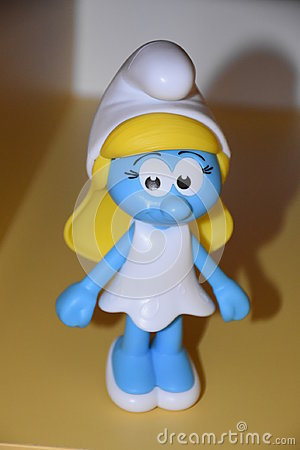 Free Miss Smurfs Royalty Free Stock Photos - 98769688