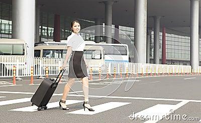 A miss staff on trip