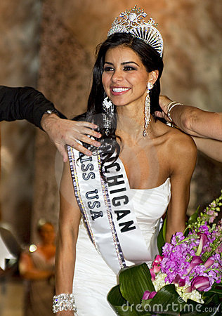 Miss USA 2010 Editorial Stock Photo