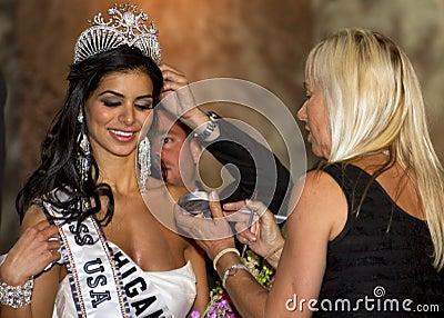 Miss USA 2010 Editorial Stock Image