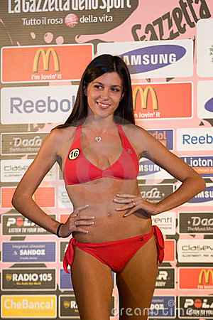 Miss World Italy Royalty Free Stock Photo - Image: 11047295
