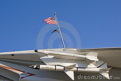 Missiles and Flags