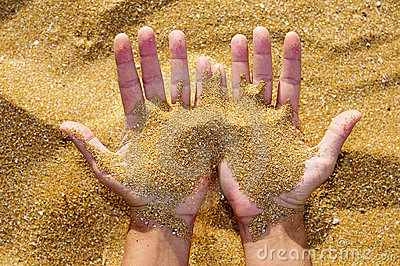 Missing sand