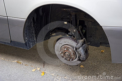 Missing tire