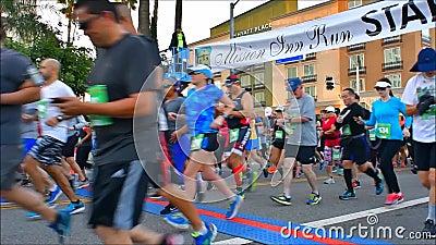 Mission Inn run stock footage