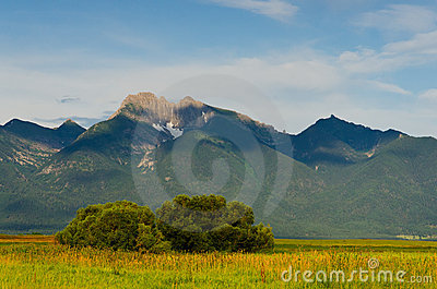 The Mission Mountains in summer, Montana, USA