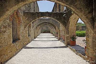 Mission San Jose arches
