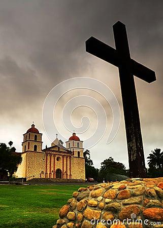 Free Mission Santa Barbara Stock Image - 6355321