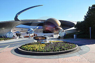 Mission Space in Disney Epcot Editorial Stock Image