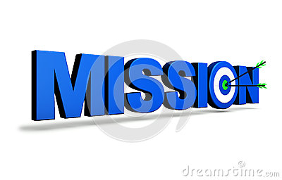 Mission Target Business Concept