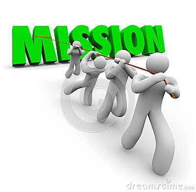 Free Mission Team Pulling Together Achieve Goal Objective Task Stock Photo - 40955740