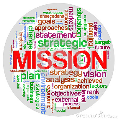 Free Mission Word Tag Royalty Free Stock Photo - 25685215