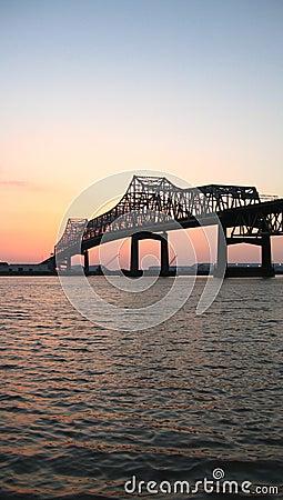 Free Mississippi River Bridge Stock Image - 240341