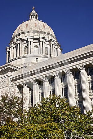 Missouri State Capital in Jeff City