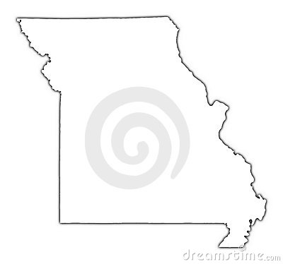 missouri map with cities. Missouri+map+outline