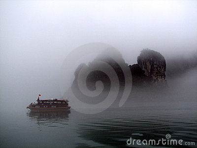 Mist in Halong