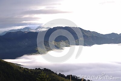Mist In Mountain Valley Free Public Domain Cc0 Image
