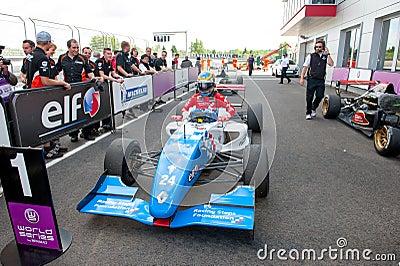 Mistrzostwa Świata Renault Obraz Editorial